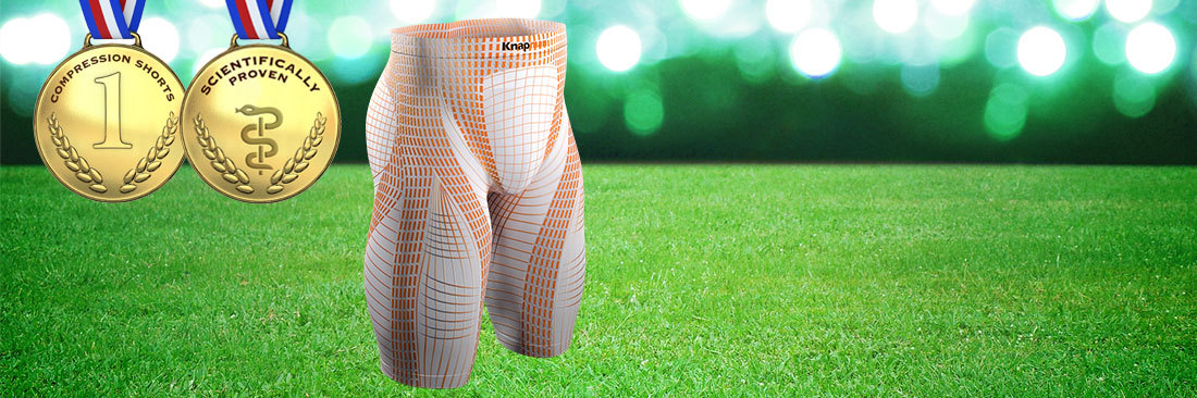 <strong>KNAP'MAN COMPRESSION SHORTS</strong><p><small>Scientifically Proven</small></p>