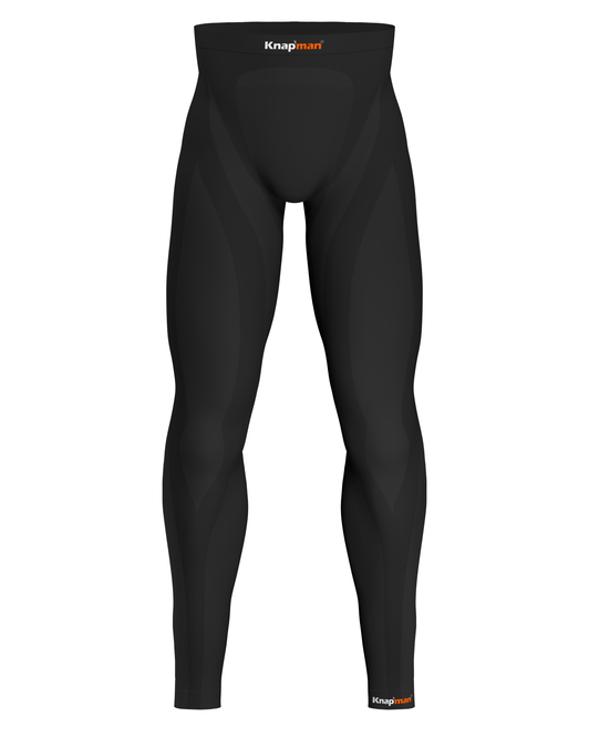 Knap'man Zoned Compression Tights 25% black