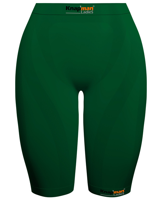 Knap'man Ladies Zoned Compression Short USP 45% green