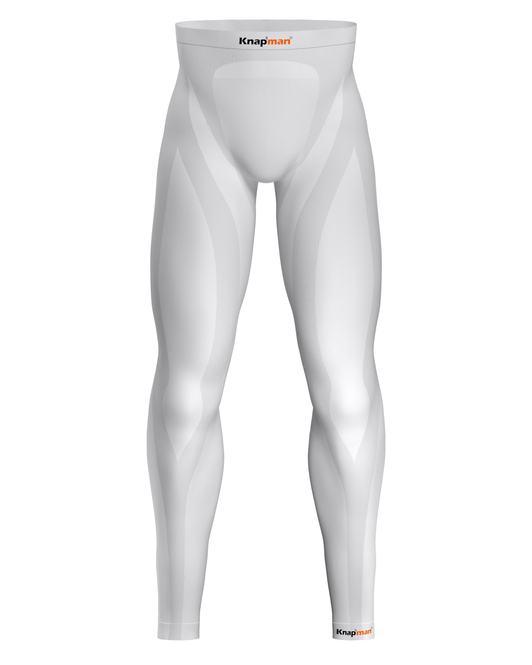 Knap'man Zoned Compression Tights 25% white